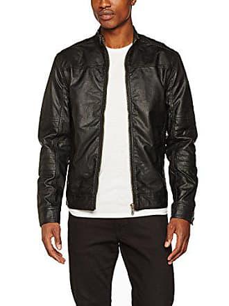 9000 Negro Jacket Solid black Hombre Xl Gaston chaqueta qxYqSIwnRH