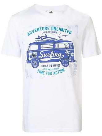 Macchia T J Imprimé shirt à DevantBlanc OwPnk0