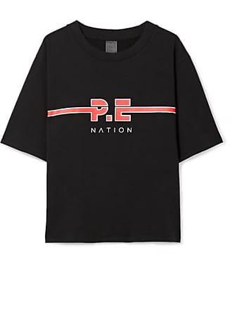 Coton Dartford Imprimé P e T Noir Nation The En Jersey Shirt De wC7Ow0