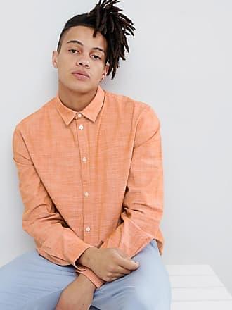 arancione in Camicia Chambray piombo Weekday trErdqw