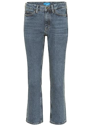 Crop Daily Straight Mih Jeans rise High P6pn04xW