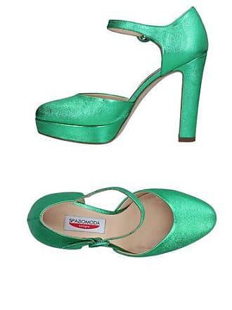 con Spazio Shoes Sandali chiusura Fashion w7FA7tq