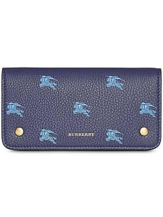 Blau Mit Handyhülle Equestrian logo Burberry Knight aHXqg