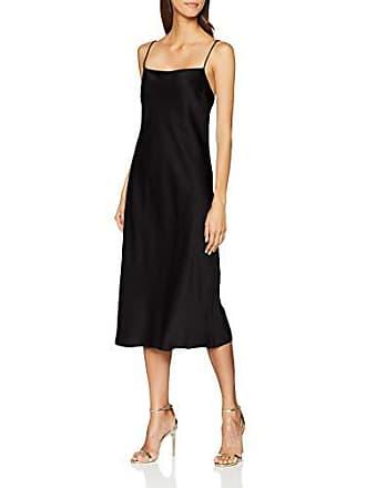1433 De black Fiesta Para Slip Satin Mujer Filippa Negro Vestido K Dress large X wPAaCqBx