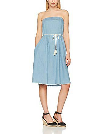 Light Dress light Vila Denim talla Clothes Mujer Azul Viabi Del 36 Blue Bondeau Fabricante Para Small Vestido Denim t8Pf8w
