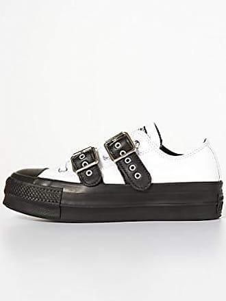Femme Buckle 38 Basses Blanc Taylor Sneakers Ctas Lift Converse white white 102 Ox Chuck Eu black 4Iq688