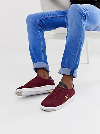 à Lyle Baskets Rouge Lacets Scott En Daim Burchill amp; q44rxHY