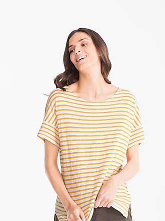 Xs T shirt C Größe bio gestreift amp;a baumwolle Weiß HqxnaZOwz