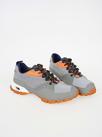 Prada Low Rubber 5 7 Sneakers And Fabric Size FcTlK1J