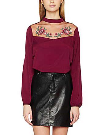 shirt 44 Violet Yoke T 67 New Burgundy Shell Femme Look dark qI6wnFxg4