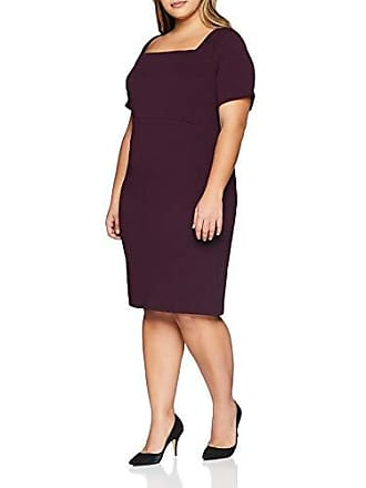 Dorothy Square produttore Woman Party Crepe prugna 18 46 Purple Neck Taglia Perkins Dress Pencil dal TTw5rFq