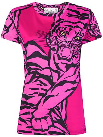 Imprimé Valentino T T Valentino shirt Rose shirt UqRq48S