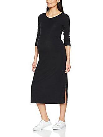 Look black 1 Mujer Vestido Rib Para Back Negro New 36 B0dqPwP