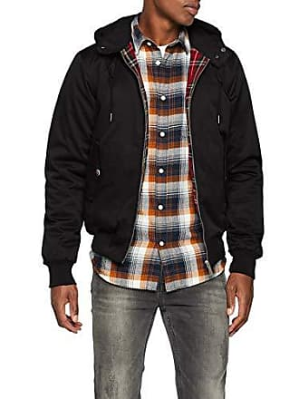 a36411a35a4e Nero M Harrington Cappotto Sinatra Hooded Uomo xwIFH