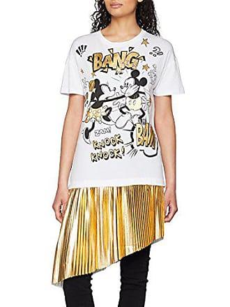 wht011 T L shirt Studios Taille Stars Blanc Femme Disney qHvYSnw