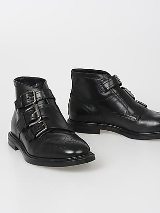 amp; Michelangelo Dolce Leather Gabbana Ankle Boots 39 Size w4cS1qT