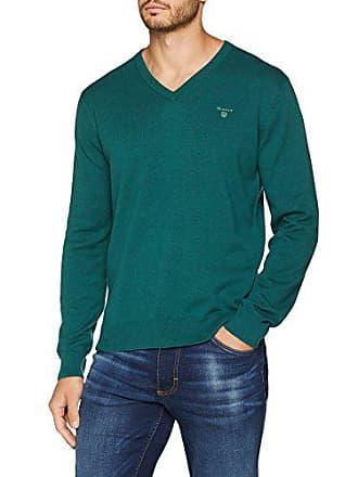 V Shirt Homme Cotton Light Gant Weight Vert Neck Sweat june Bug UqwUHC