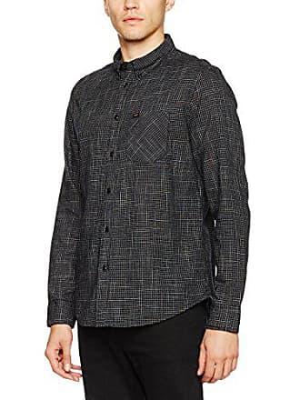 Hombre Button Camisa Para large black Xx Lee Fabricante Cm Del Negro Down talla 42 gwxnAIT