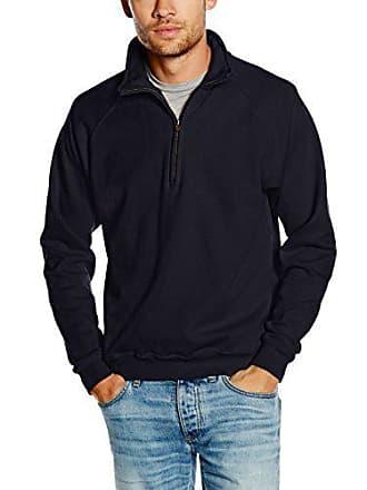 Homme The Shirt Ss108m Loom Of Bleu Sweat Fruit deep Navy nUwFq7Af