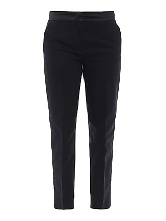 Moncler algodón de negro Pantalón elástico wvFSP