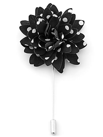 Lapel Flower Black pois Warren Asher con EFcWwTnqOR