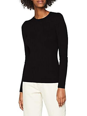 16 Fabricant 44 New taille Femme Pull black Noir Crew Look UxUvqw4zf