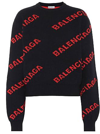 Aus Pullover Aus Balenciaga Einem Wollgemisch Balenciaga Pullover Wollgemisch Einem by6gfIvY7