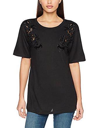 1 shirt Cutwork Maternity 42 Noir New black Velvet T Look Femme qwXzB