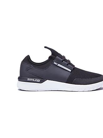 Femme Flow Enfant White Run Supra Chaussures Black fnxqw4H