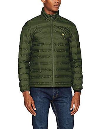amp; Jacket Chaqueta Large leaf Funnel Verde Scott Hombre Z262 Fabricante Para Wadded Neck tamaño Lyle Green XYdqXw