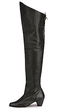 8828 stiefel Higher Gr Maiden Funtasma heels Leder Piraten Schwarz Echt 37 nrXztXq