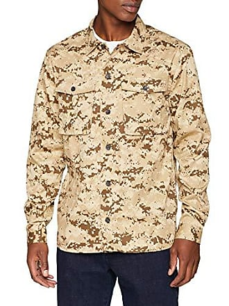 tamaño Para brown Casual 16 Hombre Medium Camo Fabricante Devotion Camisa m Libertine Del CxzFtcwUqS