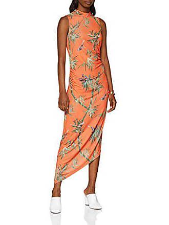 orange Barbara Mujer Vestido Asymmetric Naranja 86 38 Para Warehouse xqgZ7wOUYn
