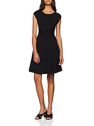 Up Mujer Drss Lace Para Vestido Negro Katie French Connection black Crepe 38 Knits U4XBzW