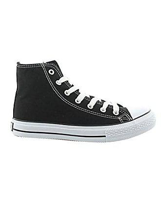 41 Schwarz Canvas Jumex Eur 9024 Jx Top Freizeitschuhe Schuhe High Herren Sneaker UwqPzF
