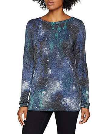 Multicolore Weber 11 Pull graublau Femme Pullover Arm Gerry Fv7YRwgqF