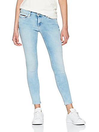 Nora florida l32 Azul Mujer Tommy Stretch Rise Skinny Jeans Light Super W31 Blue 911 Vaqueros Mid q8wIAg
