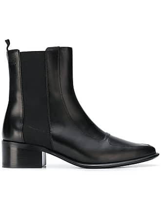 Ankle Loewe Boots Block Noir Heel qAwPrFEA