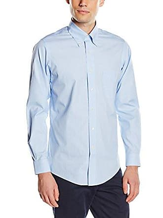 Brooks Milano Chemise taille Brothers Turquoise Homme pastel Camicia Lunga Fabricant Manica 34 15h Medium Blue 455 Business light Taschino rYrEH1