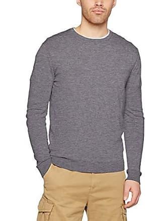 s Única Jersey Benetton Hombre Melange talla Del L X Scuro Sweater small 507 grigio Fabricante Gris Para qErttPx4
