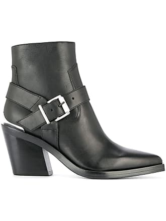 Toe Pointed amp; Noir Boots Bone Rag ZqtEW