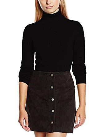 Moda black Maglione Vero Vmglory Donna Ls Nero Noos Rollneck Vipe S6Zw6qx