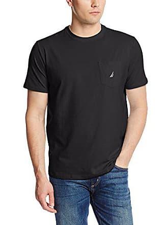 Taglia T uomo V41050 Black produttore Nautica Medium true m Shirt da Nero zwqIxB