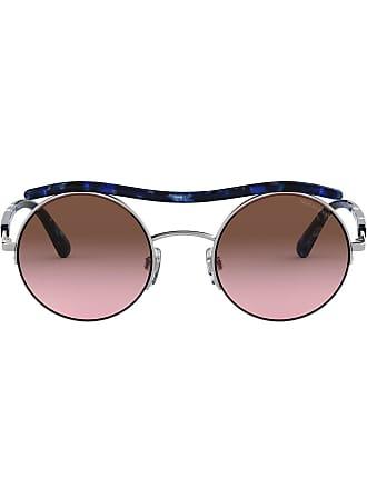 Argenté Armani Round Giorgio Frame Sunglasses wvHgqX