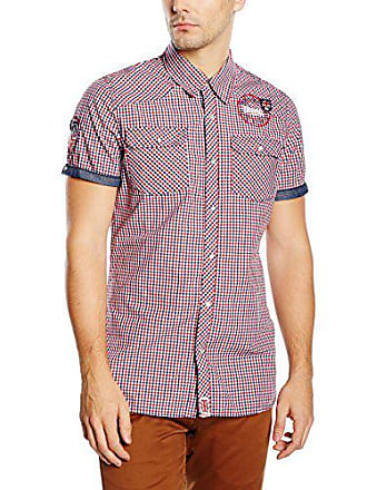 Reigate Del A Hombre Maglia talla Para Xx navy Hemd large rot Lunghe weiß Lonsdale Maniche Fabricante 7aqBxW50aw