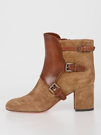 36 Size Boots Leather 6cm 5 Santoni Ankle znx6ZIBzqw