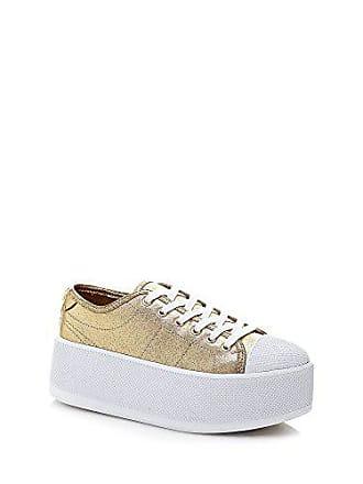 Goldkeil Frau Lel12 Sommer 2018 Stoffe Sneaker In Neuem Artikel Guess Gold Kollektion39 Mit Durchschnittlichem Flbm32 Frühjahr XTZikuwOP
