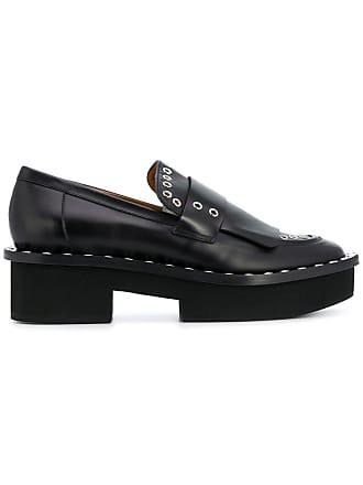 Loafers Clergerie Platform Robert Bianca Noir 7tqZ6d