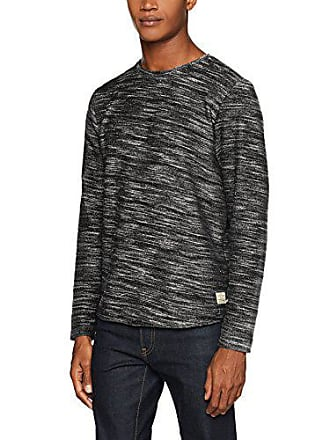 caviar Small uomo Fit per reg Jjvsacron Felpa Grigio Crew Neck Sweat Melange Jack Jones Fit 6ngxa6T