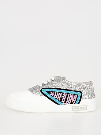 5 36 Glitter Beads Miu Embroidery Size Sneakers qZY7x1